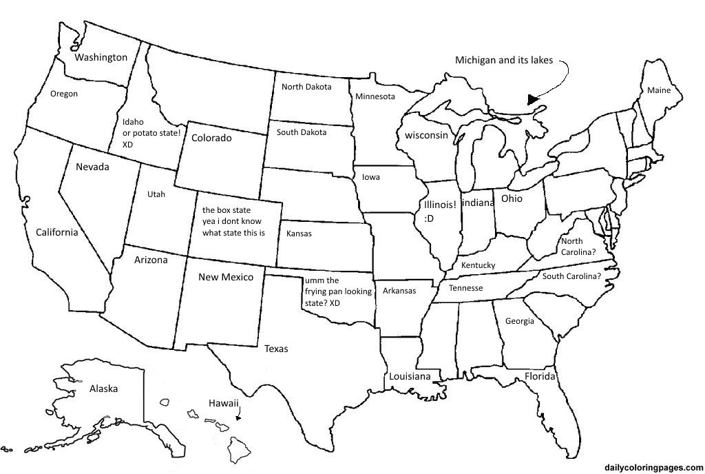 name the 50 states - HD1358×911