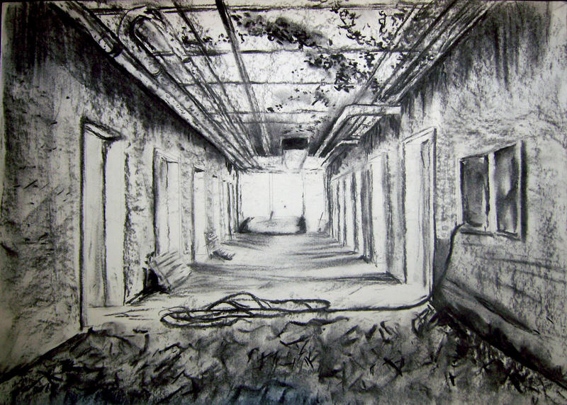 Abandoned Hospital By Farmeriain On Deviantart