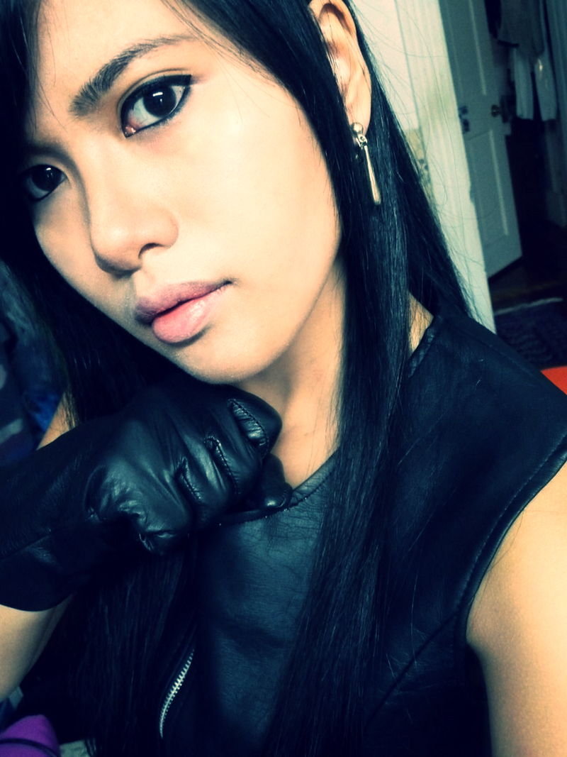 Tifa Lockhart Close-up by CrystalMoonlight1
