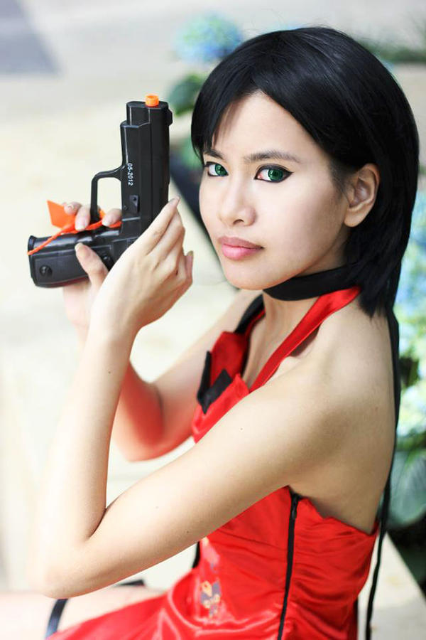 Ada Wong Cosplay by CrystalMoonlight1