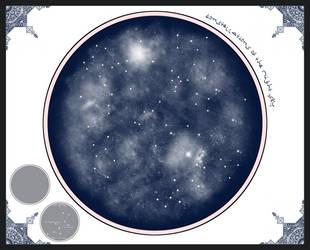 W.I.P. Star Chart by valhaia