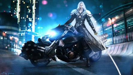 Motorbike Sephiroth 3D