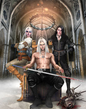 Crossover - Sephiroth x The Witcher
