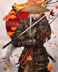 Samurai Sephiroth by Kaena22