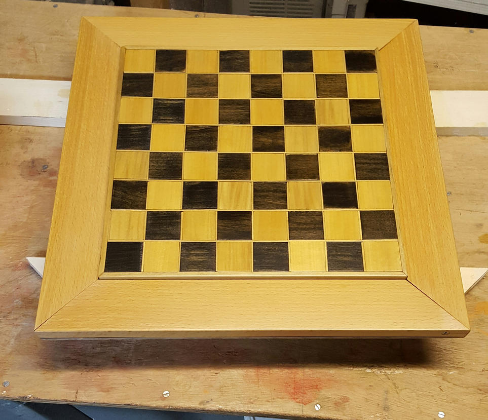 Chess Board 2 by DrMorbius12