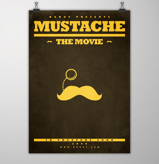 Mustache the movie by oyvindronning