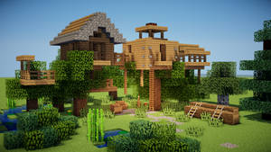 Minecraft Treehouse by Trinapple