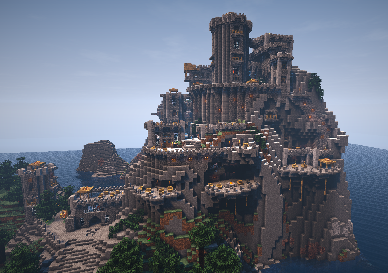 Minecraft Terraced Castle By Trinapple On DeviantArt