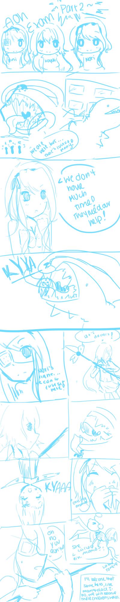 AoH: Exam Part 2 by PurpleKimiko