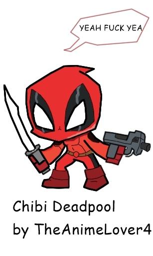 Chibi Deadpool Drawn By Me! By XHeartbreaker X ...