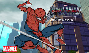 Captain America: Civil War Spider-Man by xHeartbreaker-X