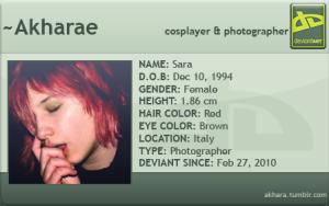 akharae's Profile Picture