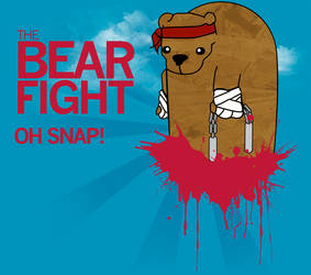 The Bear Fight Myspace Banner by DesignatedDisaster