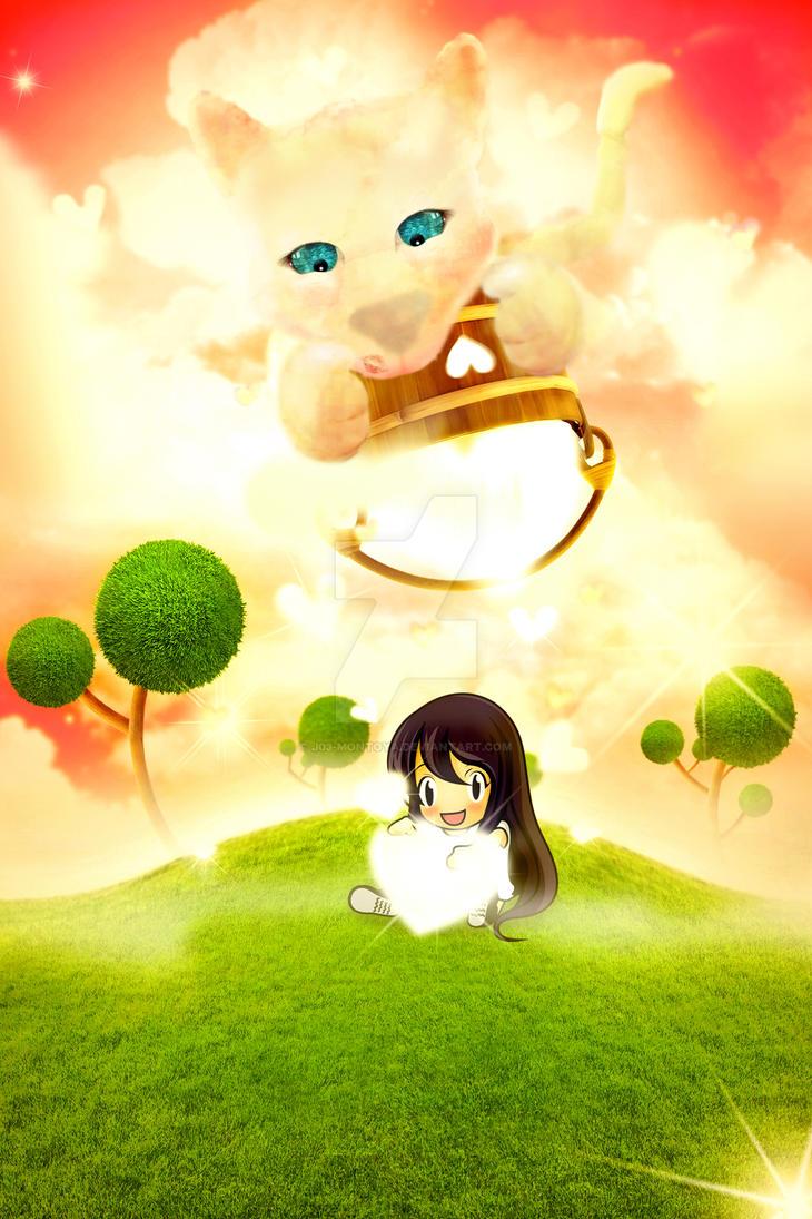 Kitten's dream by J03-MONTOYA