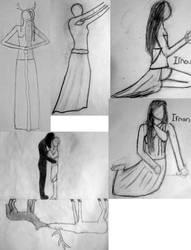 Mona's Sketch dump 1 by Monalux