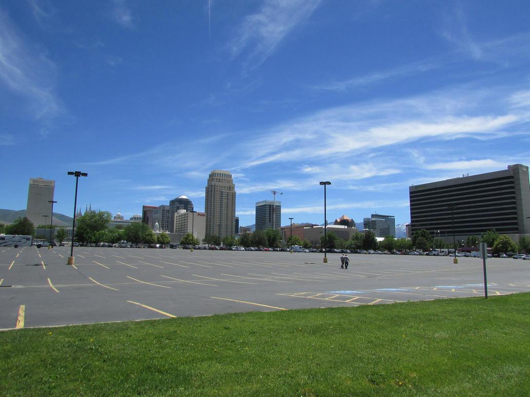 Downtown Salt Lake City by eon-krate32