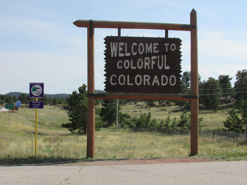 Colorado Welcome Sign by eon-krate32