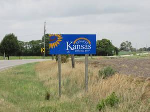 Kansas Welcome Sign