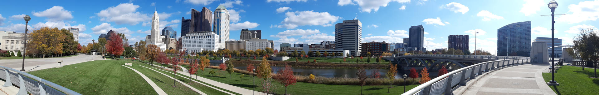 Columbus panoramic