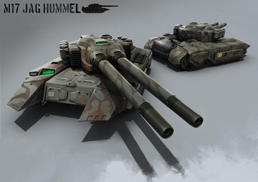 Battle Tank by atomhawk