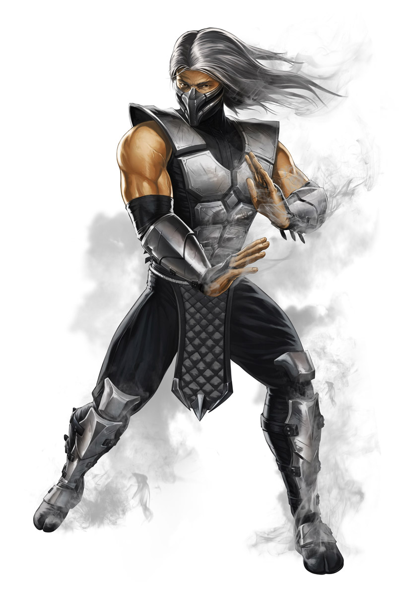 Character Design Mortal Kombat : Smoke by atomhawk on deviantart