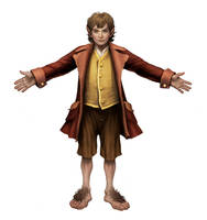 Guardians of Middle Earth - Bilbo by atomhawk