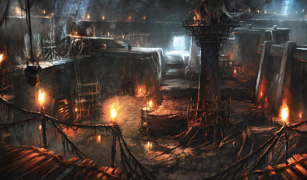 Lord Of The Rings - Moria by atomhawk