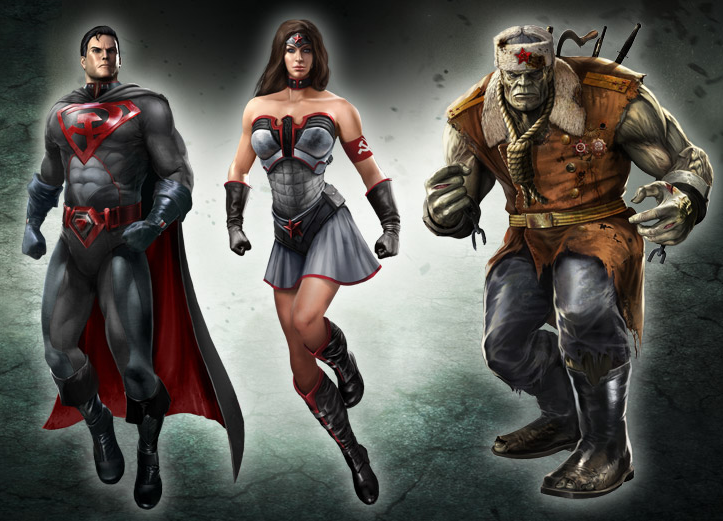 injustice red son dlc characters by atomhawk on deviantart