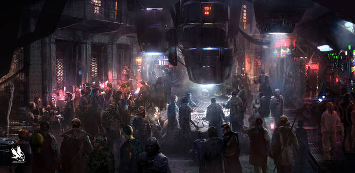 Guardians of the Galaxy- Bar concept