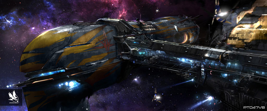 Guardians of the Galaxy- Nova Transport by atomhawk on ...