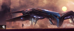 Guardians of the Galaxy- Quill's Ship