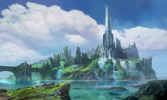 Fantasy City Concept- Rise to the Throne