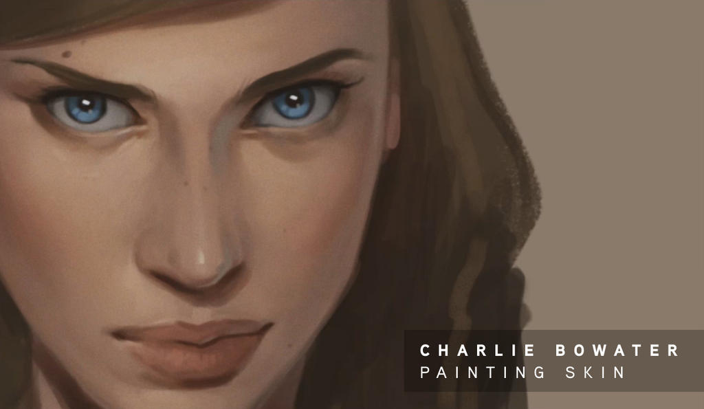 Tutorial: Painting Skin- by Charlie Bowater by atomhawk