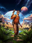 Outcast Second Contact Cover