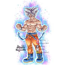 Mastered Ultra Instinct Son Goku by Jim32-Hq32oL