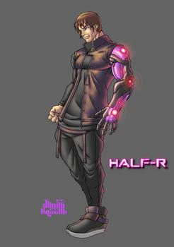 Commission Complete: Half-R