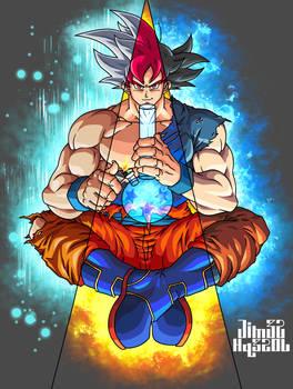 Goku: Super Saiyan God Mastered Ultra Instinct