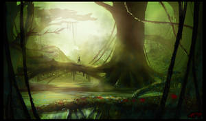 .:Forest Speedpaint:. by mrConceptual