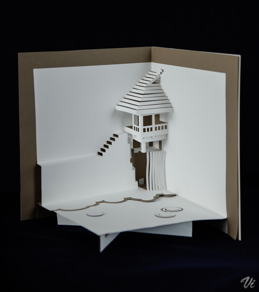 POP-UP book design-03~- by vivianWM
