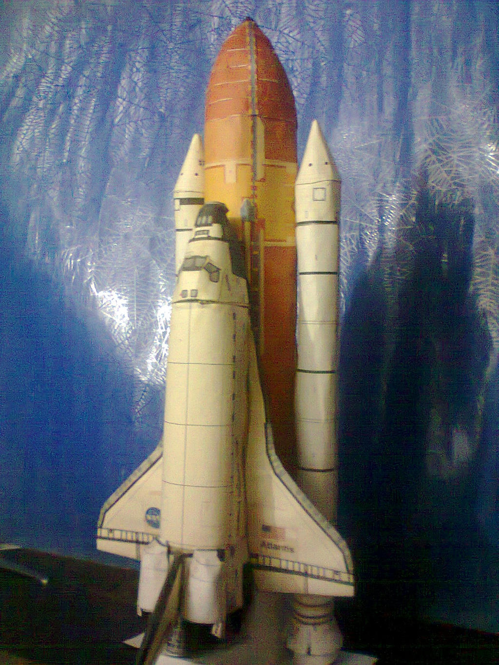 atlantis space shuttle papercraft - photo #7