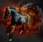 Ride the fire horse