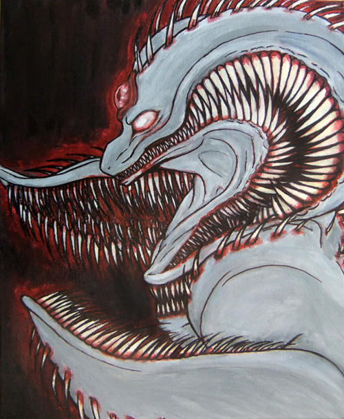 Miles.of.Teeth by drawitout
