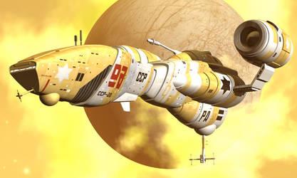 Yellow starship
