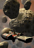 Asteroids by Paul-Lloyd
