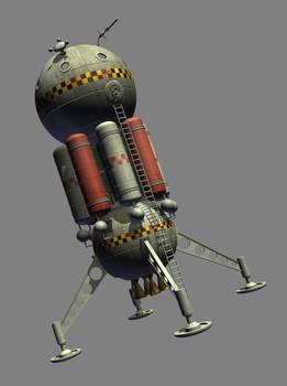 1950s style planetary lander - still WIP