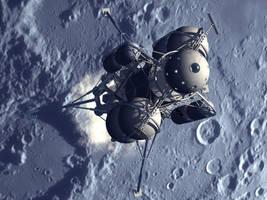 Collier's/Von Braun Moon Lander Again