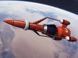 Thunderbird 3 On final Approach