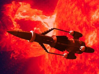 Sun Probe Rescue by Paul-Lloyd