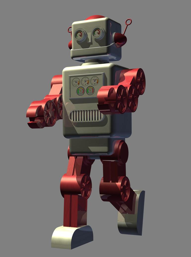 Terrifying Robot by Paul-Lloyd