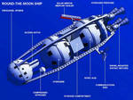 1952 Round the Moon ship